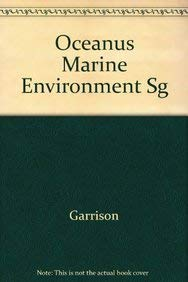 Oceanus: The Marine Environment, 7th Study Guide (9780534512705) by Garrison, Tom S.