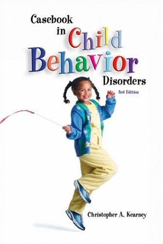 9780534512729: Casebook in Child Behavior Disorders