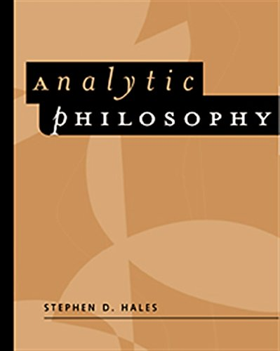 Analytic Philosophy: Classic Readings: Hales, Steven D.