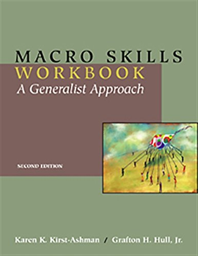 9780534513023: Macro Skills Workbook: A Generalist Approach