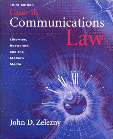 9780534513320: Cases in Communication Law
