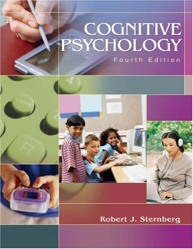9780534514211: Cognitive Psychology