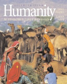 9780534514556: Humanity: An Introduction to Cultural Anthropology