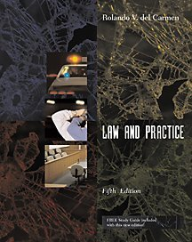 9780534514716: Criminal Procedure: Law and Practice (with Study Guide and InfoTrac) (Criminal Justice Series)