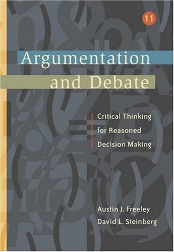 9780534515102: Argumentation and Debate (with InfoTrac) (Wadsworth Series in Communication Studies)
