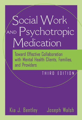 9780534515515: The Social Worker and Psychotropic Medication: Toward Effective Collaboration with Mental Health Clients, Families, and Providers (Psychopharmacology)