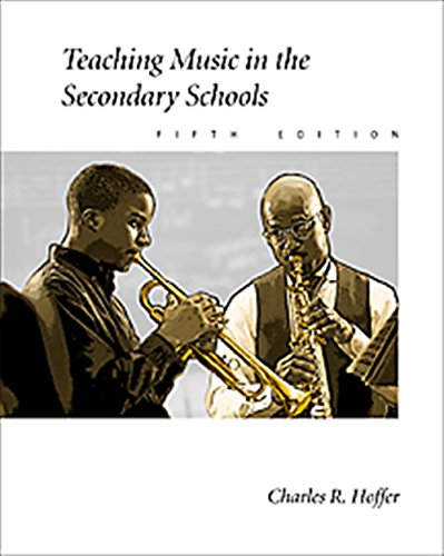 9780534516550: Teaching Music in the Secondary Schools