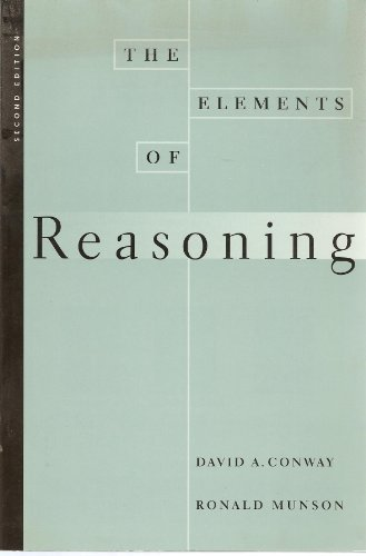 The Elements of Reasoning: David A. Conway,
