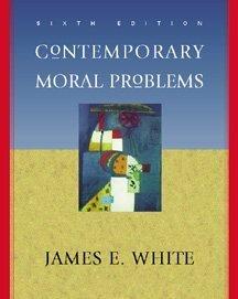 9780534517243: Contemporary Moral Problems