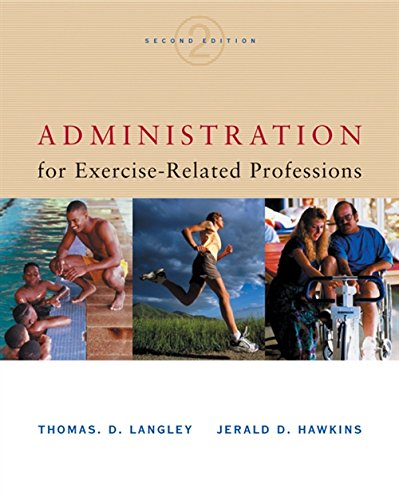 9780534518332: Administration for Exercise-Related Professions