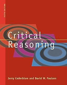9780534519407: Critical Reasoning