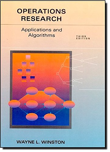 9780534520205: Operations Research Applications and Algorithms