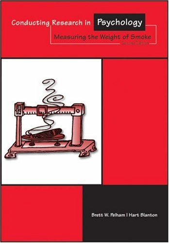 9780534520939: Conducting Research in Psychology: Measuring the Weight of Smoke