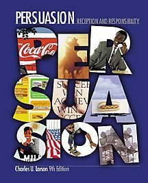9780534522858: Persuasion: Reception and Responsibility (with InfoTrac)