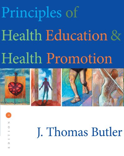 9780534523749: Principles of Health Education and Health Promotion (Wadsworth's Physical Education Series)