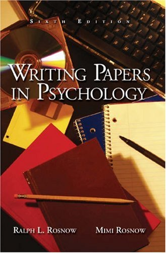 writing essays and research reports in psychology