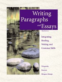 writing paragraphs and essays integrating reading writing and grammar skills Download and read writing paragraphs and essays integrating reading writing and grammar skills annotated instructors edition writing paragraphs and essays integrating reading.