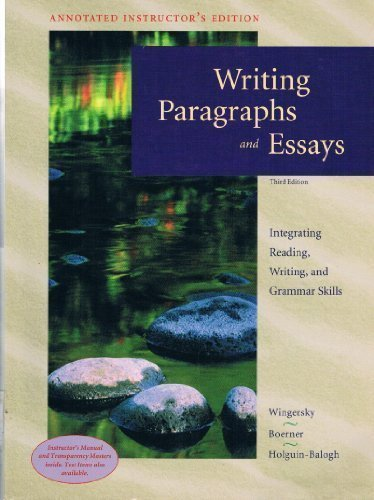 focus on writing paragraphs and essays (ed. 3)