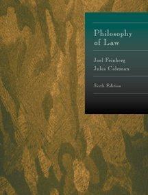 Philosophy of Law: Joel Feinberg, Jules