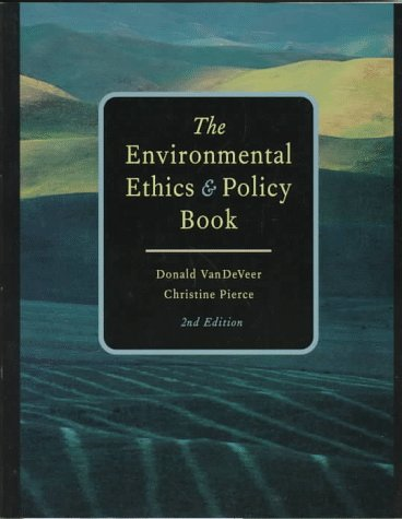 9780534525248: Environmental Ethics and Policy Book
