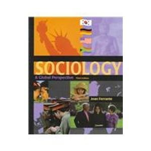 9780534525514: Sociology: A Global Perspective