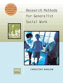 9780534525712: Research Methods for Generalist Social Work With Infotrac