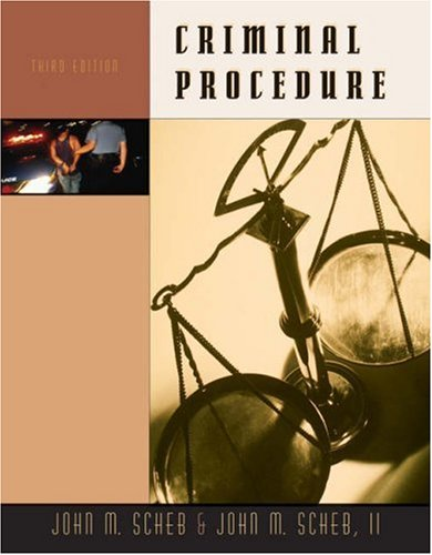 9780534525835: Criminal Procedure