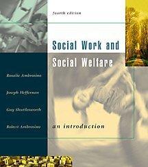 9780534525996: Social Work and Social Welfare: An Introduction (with InfoTrac)