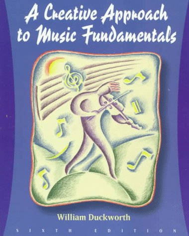 9780534526320: Creative Approach to Music Fundamentals (Music Series)