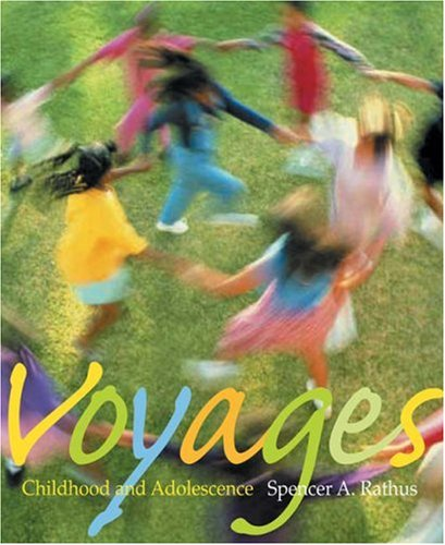 9780534527853: Voyages: Childhood and Adolescence (with InfoTrac)