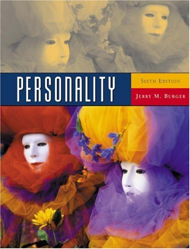 9780534527969: Personality (with InfoTrac) (Available Titles CengageNOW)
