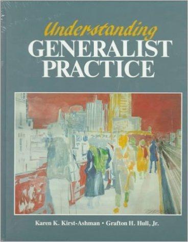9780534528096: Student Manual for Understanding Generalist Practice