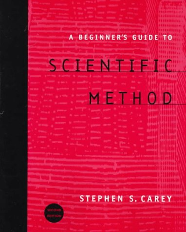 A Beginner's Guide to Scientific Method.