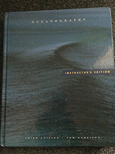 Oceanography: Invitation to Marine Science (9780534530839) by Garrison, Tom