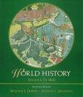 9780534531188: World History to 1800 (Volume I)