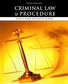 9780534535056: Criminal Law and Procedure