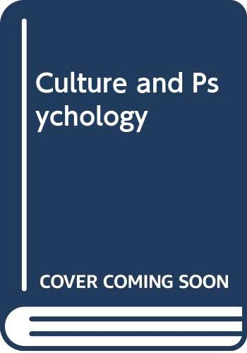 9780534535933: Culture and Psychology
