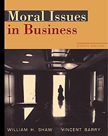 9780534535957: Moral Issues in Business