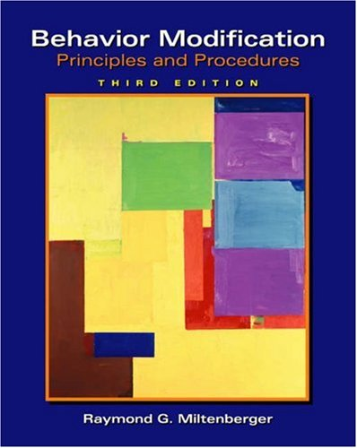 9780534536008: Behavior Modification: Principles and Procedures (Available Titles CengageNOW)