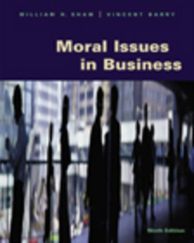 9780534536572: Moral Issues in Business