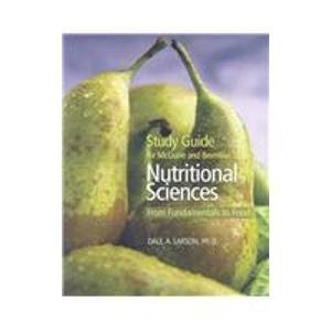 9780534537265: Study Guide for McGuire/Beerman's Nutritional Sciences: From Fundamentals to Food