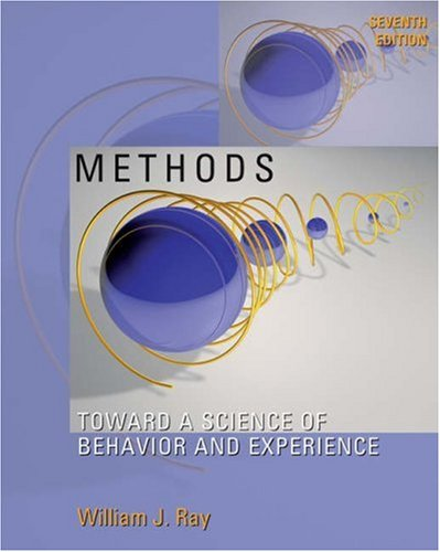 9780534538675: Methods Toward a Science of Behavior and Experience