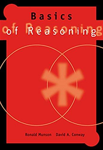 Basics of Reasoning: Ronald Munson, David