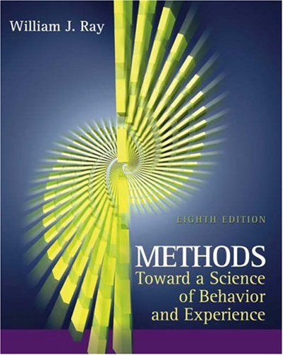 9780534539511: Methods Toward a Science of Behavior and Experience (with InfoTrac) (Available Titles CengageNOW)
