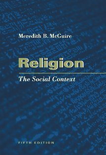 9780534541262: Religion: The Social Context