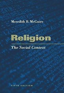 9780534541262: Religion: The Social Context