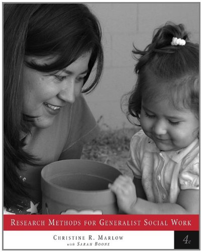 9780534541590: Research Methods for Generalist Social Work (with InfoTrac)