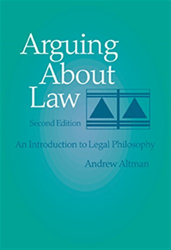 9780534543525: Arguing about Law: An Introduction to Legal Philosophy