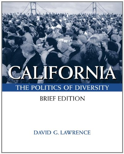 9780534543822: California: Politics Of Diversity, Brief (with InfoTrac)