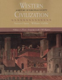 9780534545321: Western Civilization: From Antiquity to the Old Regime v.1: History of European Society: From Antiquity to the Old Regime Vol 1